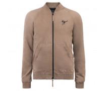 Beige suede jacket JAXON