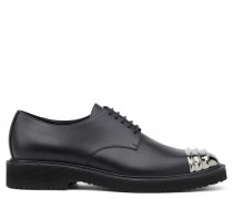 Black calf leather shoes ANDIE
