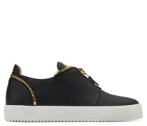 Leather slip-on sneaker THE REVEAL