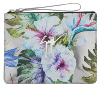 Shooting pouch with printed flowers MARGERY SPRING