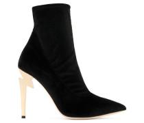 Stretch velvet 'G-Heel' boot G-HEEL