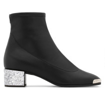 Stretch leather boot AUGUSTINE