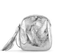 Patent leather shoulder bag BICE