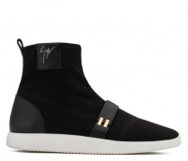 Canvas high-top sneaker WARREN