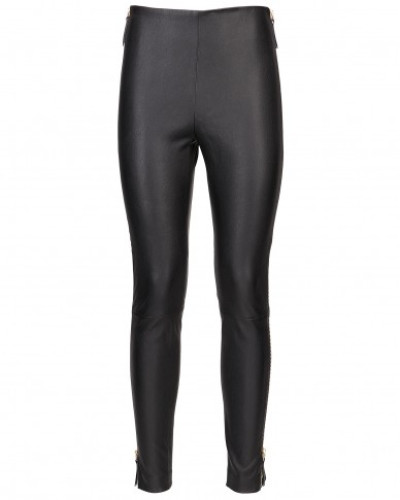 Pants in stretch nappa leather MACY