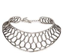 Brass metal necklace LAUREN
