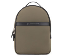305x425 mm beige neoprene backpack BOSTON