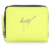 Leather wallet with Signature NITA