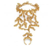 Gold tone brass bracelet ARIEL