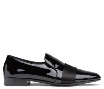Black patent leather loafer LAURENCE