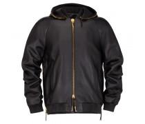 Black nappa jacket CURTIS