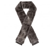 Grey lapin scarf BRUCE