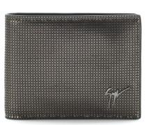 Printed suede wallet ALBERT