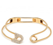 Gold-tone brass necklace SIAN
