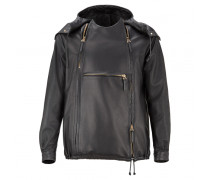 Black nappa oversized jacket COPPER