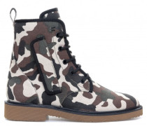 Camouflage fabric boot COMBAT