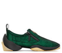 Stretch suede slip-on sneaker LIGHT JUMP LT3
