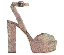 Glitter 'Betty' sandal with platform BETTY GLITTER