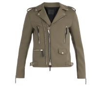 Fabric biker jacket KIAN