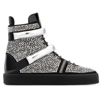 Suede high top with crystals all-over MOONSHOT