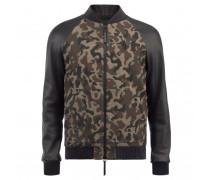 Camouflage fabric jacket ETHAN