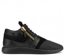 Black fabric 'runner' sneaker RUNNER