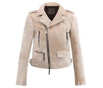 Velvet biker jacket AMELIA