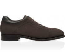 Goodyear Welted Velours Lace Up