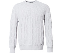 Circular Cable Sweater