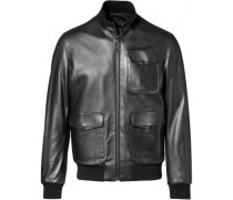 Reversible Leather Blouson