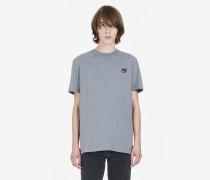 T-Shirt mit Swallow-Aufnäher