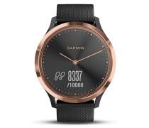Garmin Damenuhr Smartwatch Vivomove HR roségold...