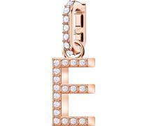 Remix Charm Alphabet E, weiss, rosé ...