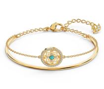 Symbolic Mandala Armreif, grün, vergo...