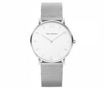 Uhr Sailor Line White Sand Silber Metallband Si...