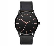 MVMT Herrenuhr Classic Black Rose Leather MM01-...