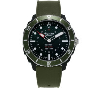 Alpina Seastrong Horological Smartwatch Grün 4...