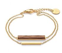 Damenschmuck Rectangle Bracelet-Walnut...