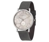 Unisexuhr Fritz-White Marble-Silver-As...