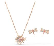 Eternal Flower Dragonfly Set, rosa, Rosé vergol...