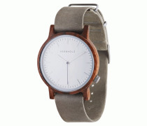 Herrenuhr Walter Walnuss Concrete Grey