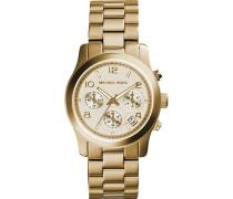 Damenuhr Chronograph Gold MK5055