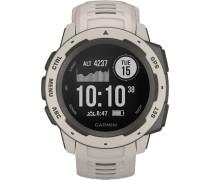 Garmin Instinct Tundra Herren Smartwatch Hellgr...