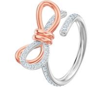 Lifelong Medium Bow Ring, Gr. 58, wei...