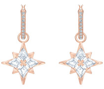 Symbolic Star Kreolen, weiß, Rosé ver...