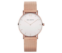 Uhr Sailor Line White Sand IP Roségold Metallba...