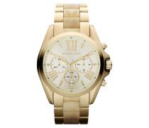 Damenuhr Chronograph Gold MK5722