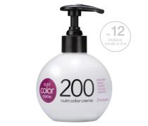 Nutri Color Creme - 000 Weiß Um Pastellfarben zu kreieren (1 Teil Farbe + 5 Teile White Cream) , 250 ml