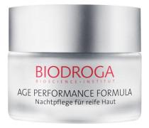 AGE PERFORMANCE FORMULA Nachtpflege für reife Haut - 50 ml