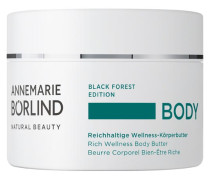 BODY Black Forest Edition Reichhaltige Wellness-Körperbutter - 250 ml